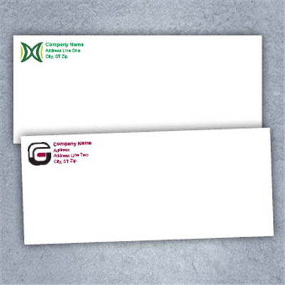 Color Logo Only- Business Envelopes